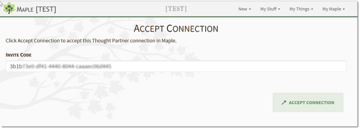 Accept Connection