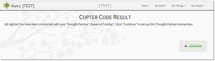 Copter Code Result